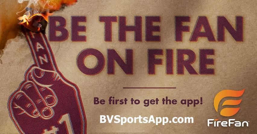 Be The Fan On Fire - Live Interactive Sports App - FireFan