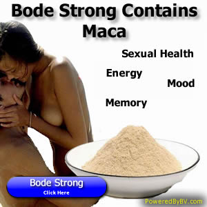 Maca Benefits Bode Pro Strong